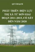 Quy hoạch phát triển điện lực thị xã Từ Sơn giai đoạn 2011-2015, có xét đến năm 2020