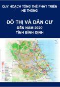 Quy hoạch tổng thể phát triển hệ thống đô thị và khu dân cư nông thôn – tỉnh Bình Định