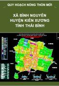 Quy hoạch xây dựng Nông thôn mới xã Bình Nguyên – huyện Kiến Xương – tỉnh Thái Bình