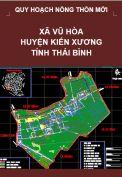 Quy hoạch xây dựng Nông thôn mới xã Vũ Hòa– huyện Kiến Xương – tỉnh Thái Bình