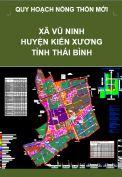 Quy hoạch xây dựng Nông thôn mới xã Vũ Ninh– huyện Kiến Xương – tỉnh Thái Bình