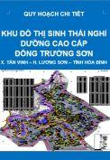 Quy khu đô thị sinh thái nghỉ dưỡng cao cấp Đông Trường Sơn – xã Tân Vinh – huyện Lương Sơn – tỉnh Hòa Bình