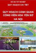 Thiết kế quy hoạch cảnh quan công viên hoa Yên Sở - Hà Nội