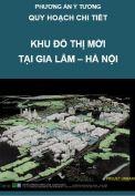 Ý tưởng quy hoạch Khu đô thị mới, Khu công viên khoa học và Khu giải trí tại Gia Lâm Hà Nội