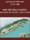 Quy hoạch phân khu tỷ lệ 1/2000 Khu đô thị Cái Rồng - Khu kinh tế Vân Đồn