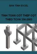 Bản tính cốt thép cột theo TCVN 356-2005