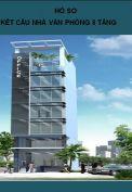 Hồ sơ kết cấu nhà văn phòng 8 tầng.