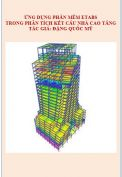 Ứng dụng phần mềm etabs trong thiết kế nhà cao tầng.