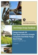 Steel bridge design handbook- Design example 2B: Two-span continuous straight composite steel wide-flange beam bridge