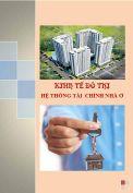 Tiểu Luận: Hệ thống tài chính nhà ở