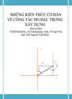 Những kiến thức cơ bản về công tác đo đạc trong xây dựng