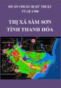 Đồ án chuẩn bị kỹ thuật - Thị xã Sầm Sơn - Tỉnh Thanh Hóa