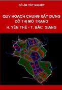 Đồ án quy hoạch chung đô thị Mỏ Trạng huyện Yên Thế tỉnh Bắc Giang