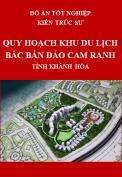 Đồ án tốt nghiệp kiến trúc sư – Quy hoạch khu du lịch Bắc Bán Đảo Cam Ranh – Tỉnh Khánh Hòa đến năm 2035