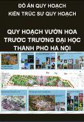 Đồ án tốt nghiệp kiến trúc sư quy hoạch – Quy hoạch vườn hoa trước trường đại học Thủy Lợi  thành phố Hà Nội