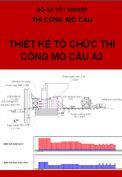 Đồ án tốt nghiệp thiết kế tổ chức thi công mố cầu A2 huyện Văn Lâm, tỉnh Hưng Yên