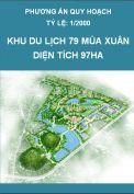 Phương án quy hoạch khu du lịch 79 Mùa Xuân huyện Mê Linh