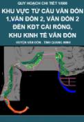 Quy hoạch chi tiết 1/500 Khu vực từ cầu Vân Đồn 1, Vân Đồn 2, Vân Đồn 3 đến khu đô thị Cái Rồng, Khu kinh tế Vân Đồn, tỉnh Quang Ninh.
