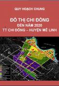 Quy hoạch chung đô thị Chi Đông huyện Mê Linh