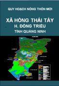 Quy hoạch xây dựng nông thôn mới xã Hồng Thái Tây– huyện Đông Triều – tỉnh Quảng Ninh