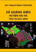 Quy hoạch xây dựng nông thôn mới xã Quảng Điền– huyện Hải hà– tỉnh Quảng Ninh