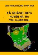 Quy hoạch xây dựng nông thôn mới xã Quảng Đức– huyện Hải hà– tỉnh Quảng Ninh