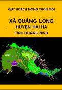 Quy hoạch xây dựng nông thôn mới xã Quảng Long– huyện Hải hà– tỉnh Quảng Ninh