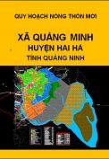 Quy hoạch xây dựng nông thôn mới xã Quảng Minh– huyện Hải hà– tỉnh Quảng Ninh