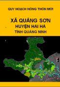 Quy hoạch xây dựng nông thôn mới xã Quảng Sơn– huyện Hải hà– tỉnh Quảng Ninh