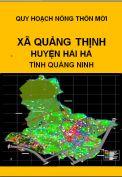Quy hoạch xây dựng nông thôn mới xã Quảng Thịnh– huyện Hải hà– tỉnh Quảng Ninh