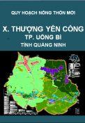 Quy hoạch xây dựng nông thôn mới xã Thượng Yên Công– thành phố Uông Bí – tỉnh Quảng Ninh