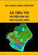 Quy hoạch xây dựng nông thôn mới xã Tiến Tới– huyện Hải hà– tỉnh Quảng Ninh