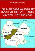 Ứng dụng công nghệ GPS xây dựng lưới kinh vỹ 1 khu vực xã Hòa Tịnh, huyện Chợ Gạo, tỉnh Tiền Giang