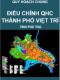 Điều chỉnh Quy hoạch chung thành phố việt trì, tỉnh Phú Thọ đến năm 2030