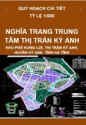 Quy hoạch chi tiết Nghĩa trang trung tâm thị trấn Kỳ Anh-huyện Kỳ Anh-tỉnh Hà Tĩnh