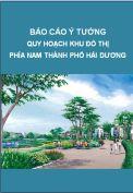Báo cáo ý tưởng quy hoạch KĐT phía Nam thành phố Hải Dương