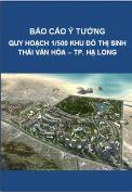 Báo cáo ý tưởng quy hoạch khu đô thị sinh thái, văn hóa – TP. Hạ Long