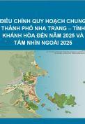 Điều chỉnh Quy hoạch chung thành phố Nha Trang đến năm 2025 và tầm nhìn sau năm 2025