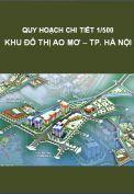 Quy hoạch chi tiết 1/500 Khu đô thị Ao Mơ – Thành phố Hà Nội