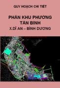 Quy hoạch chi tiết Phân khu phường Tân Bình