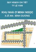Quy hoạch kiến trúc cảnh quan 1/500 Khu nhà ở Minh Ngọc