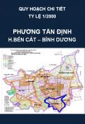 Quy hoạch Phân khu phường Tân Định đến năm 2020, định hướng đến năm 2030