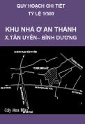 Quy hoạch xây dựng chi tiết tỷ lệ 1/500 khu nhà ở An Thành