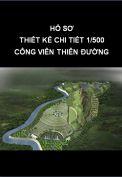 Thiết kế chi tiết 1/500 công viên nghĩa trang thiên đường