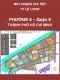 Quy hoạch chi tiết  xây dựng đô thị Khu dân cư Phường 6 - Quận 8