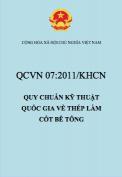 QCVN 07:2011/BKHCN Quy chuẩn kỹ thuật quốc gia về thép làm cốt bê tông