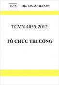 TCVN 4055:2012 Tổ chức thi công