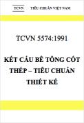 TCVN 5574:1991 Kết cấu bê tông cốt thép – Tiêu chuẩn thiết kế