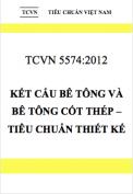 TCVN 5574:2012 Kết cấu bê tông và bê tông cốt thép – Tiêu chuẩn thiết kế