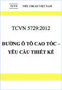 TCVN 5729:2012 Đường ô tô cao tốc – Yêu cầu thiết kế